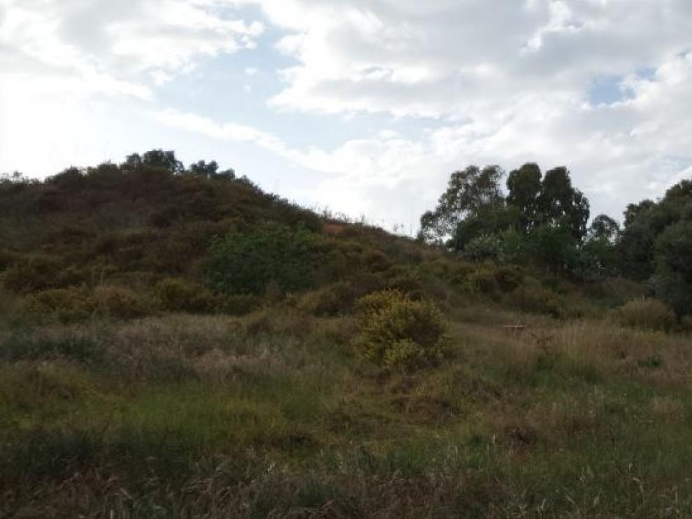 Una imagen de Google Maps del yacimiento.