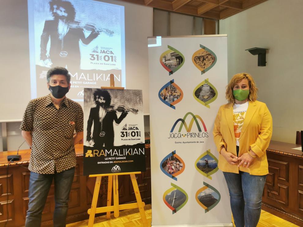 Ara Malikian, protagonista del regreso del Festival Folklórico de los Pirineos de Jaca