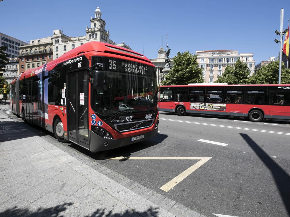 Huelga del bus urbano