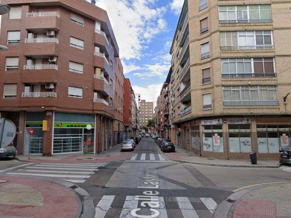 Los hechos han ocurrido esta madrugada en la calle de Lastanosa, en el barrio de Delicias.