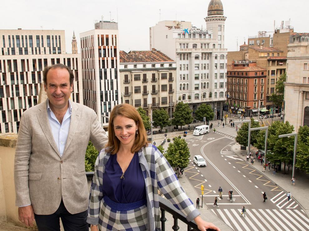 Alicia Asín, accionista mayoritaria y CEO de Libelium, y Alfonso De Leon, CEO de Axon Partners Group.