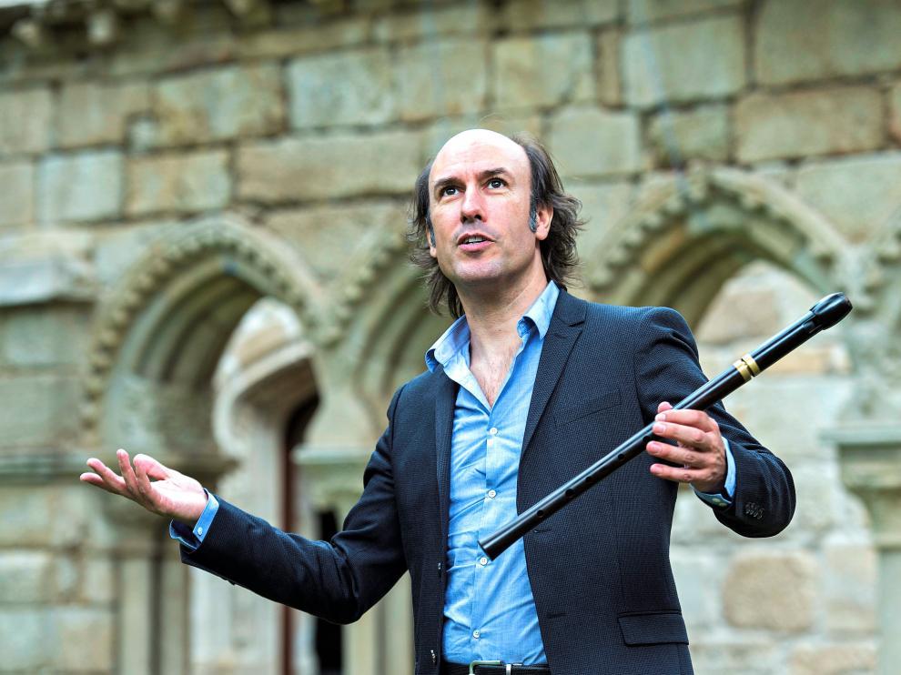 Carlos Núñez ofrecerá el 19 de agosto un concierto en la Ciudadela de Jaca.