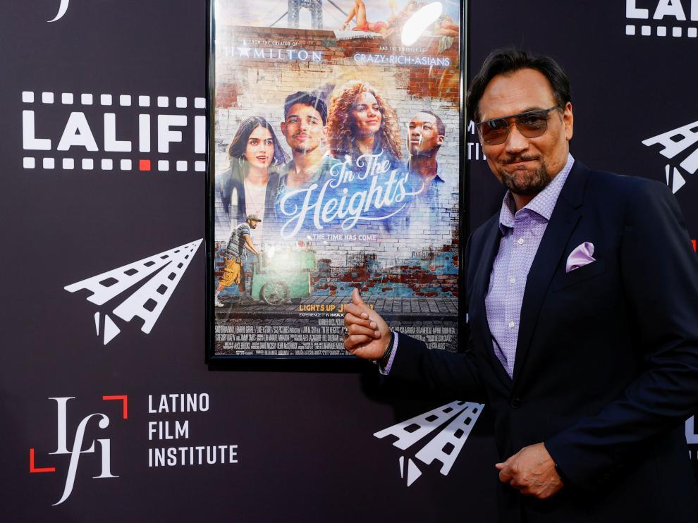 Jimmy Smits, en el preestreno de la película 'En un barrio de Nueva York' ('In The Heights') en el Festival Internacional de Cine Latino en Los Angeles.