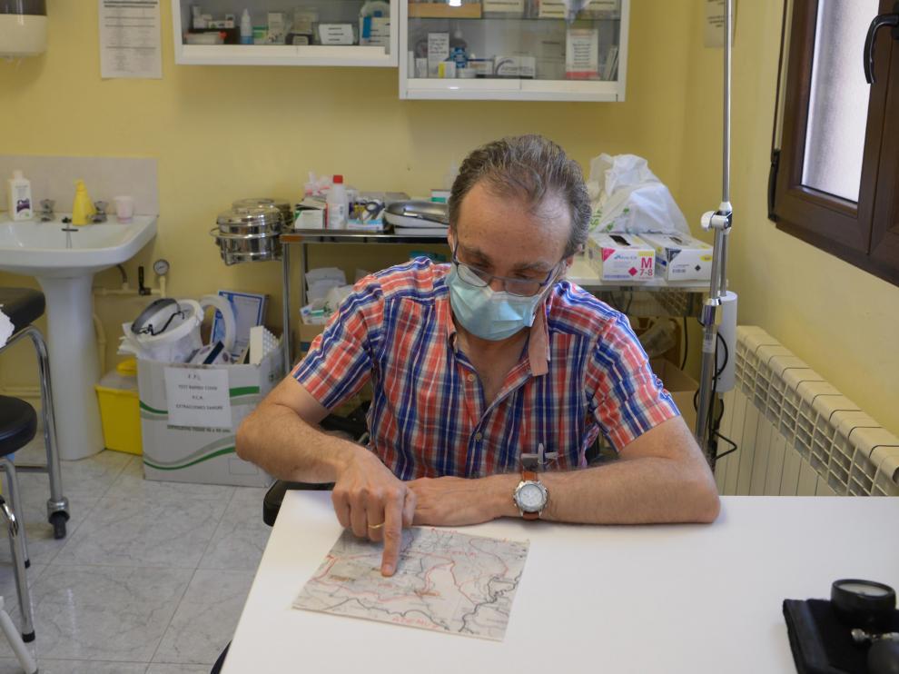 Carlos Matamala medico del Cuervo /2021-06-09/ Foto: Jorge Escudero[[[FOTOGRAFOS]]]