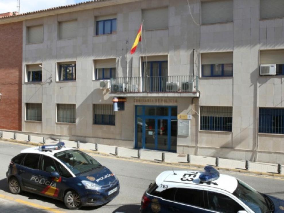 Comisaria de la Policía Nacional en Teruel.