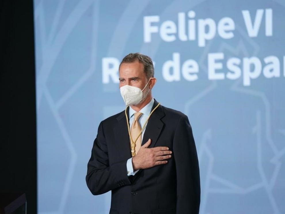 El Rey recibe la Medalla de Honor de Andalucía