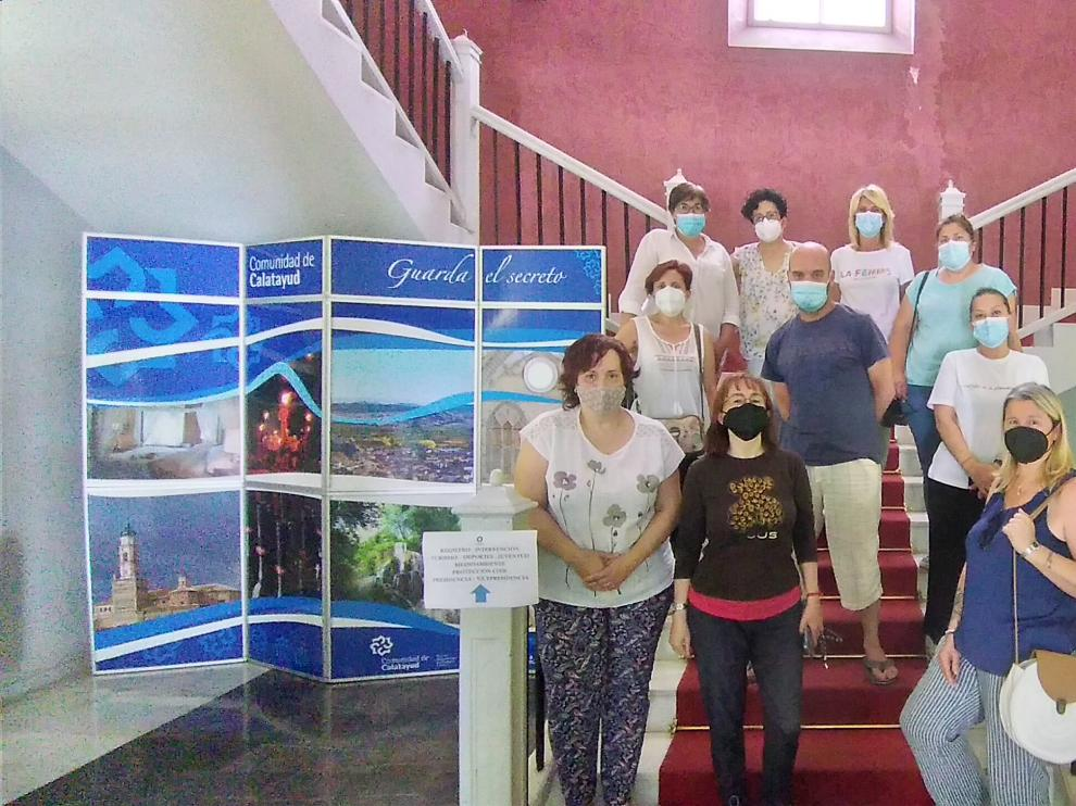 Participantes en la cuarta edición del taller de empleo de atención sociosanitaria