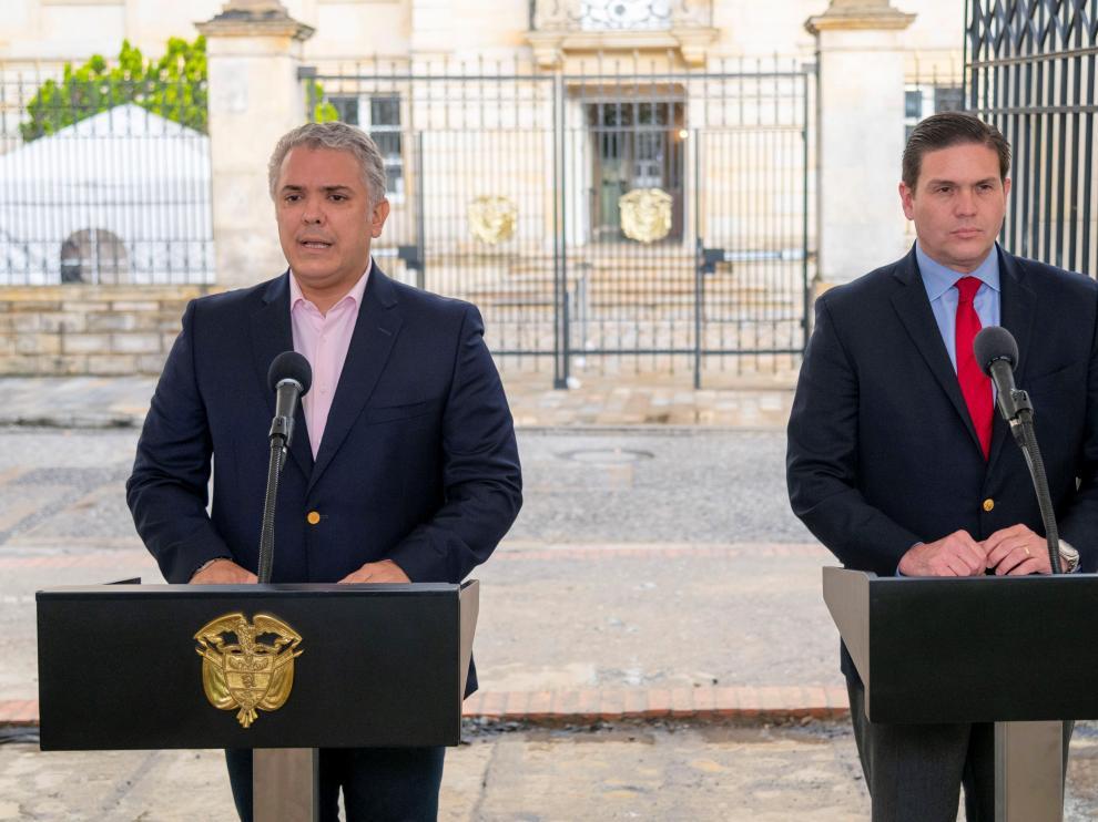 Duque designa al exministro Juan Carlos Pinzón como nuevo embajador en EE.UU.