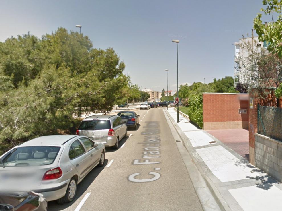 El robo se produjo en la calle de Francisco de los Ríos del distrito de Torrero.