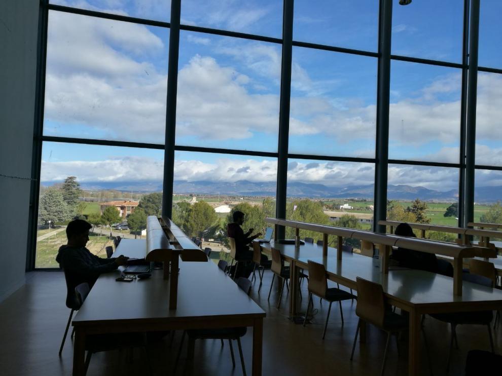 Imagen de la Escuela Politécnica Superior de Huesca.
