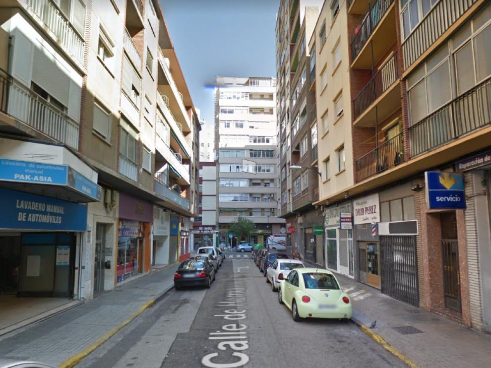 El suceso se produjo en la calle de Hermanos Pinzón.