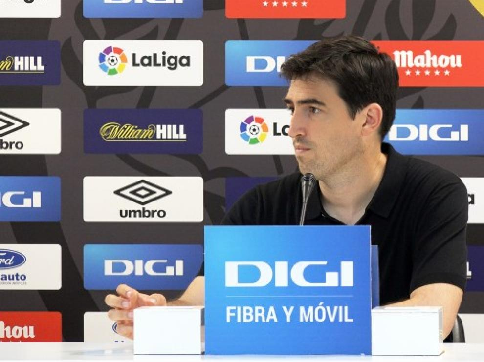 Iraola, técnico pretendido por la SD Huesca.