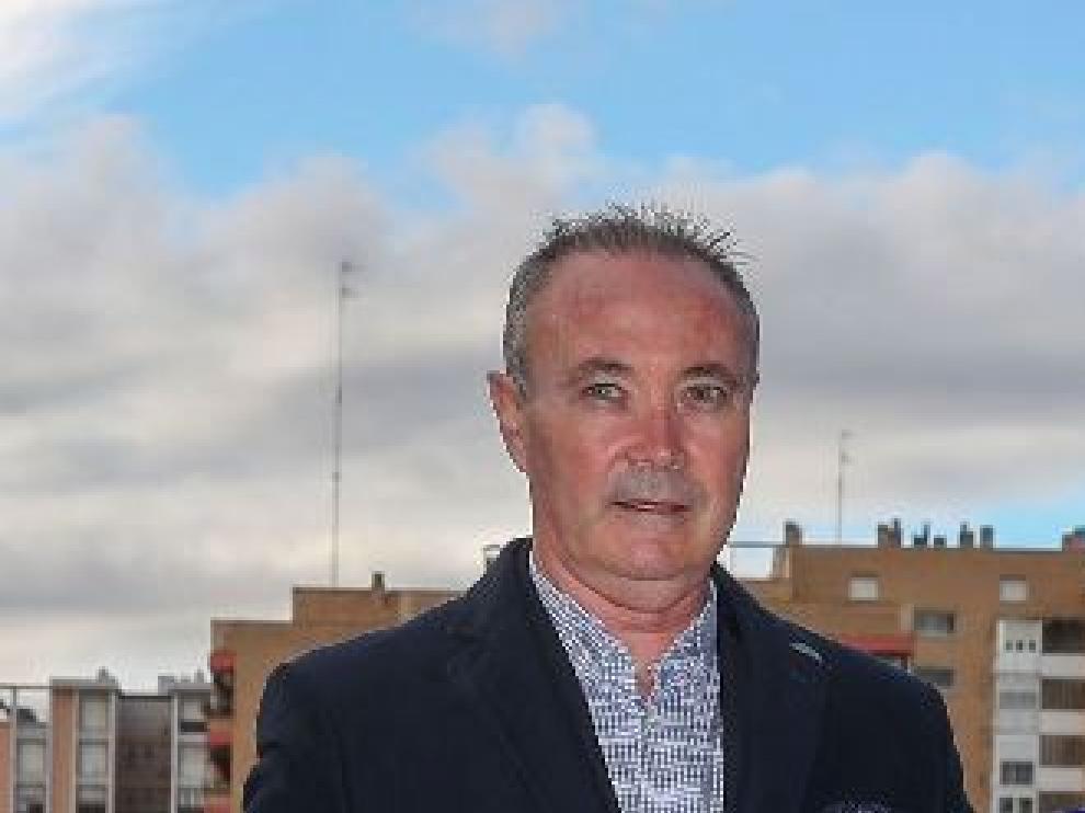 Juan Ignacio Martínez 'Jim', entrenador del Real Zaragoza, en La Romareda.