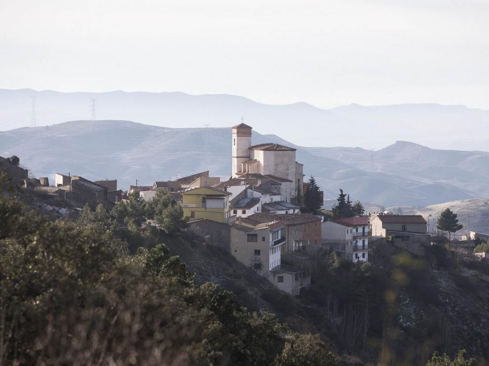 Vista de la localidad de Sediles.