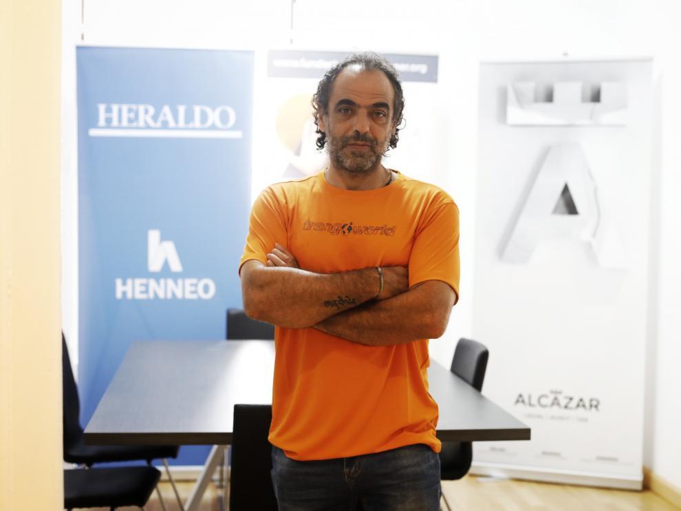 Carlos Pauner, en la presentación de su nuevo proyecto.