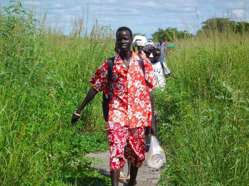 Migrantes en Sudán.
