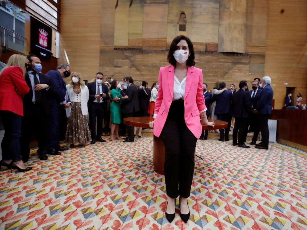 Ayuso vuelve a ser investida presidenta de Madrid