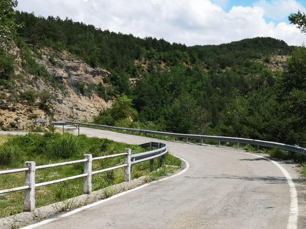 carretera de La Guarguera