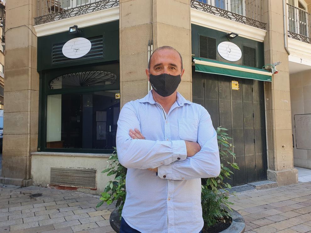 Fermín Moreno, dueño de la Chocolatería Valor de Zaragoza