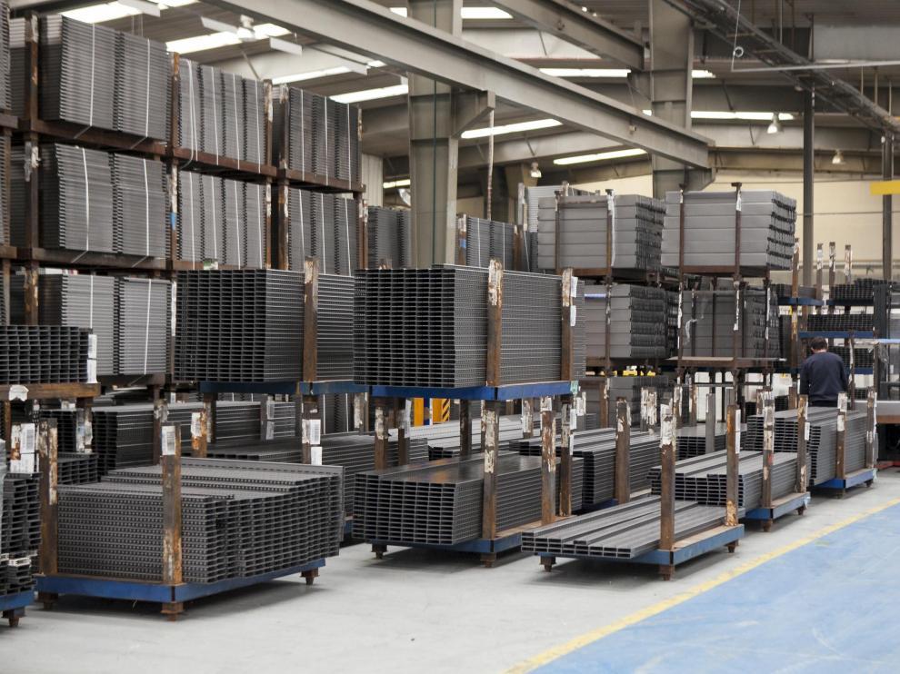 Instalaciones de la fábrica de HMY Yudigar en Cariñena