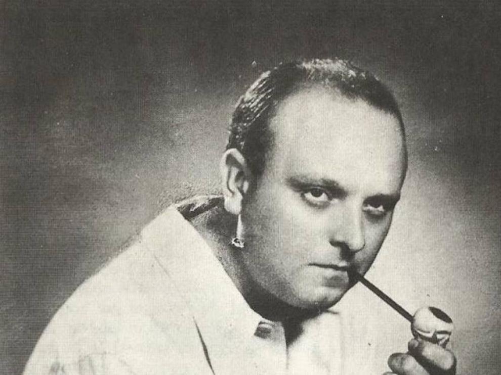 El poeta Miguel Labordeta, uno de los protagonistas de la revista Turia.