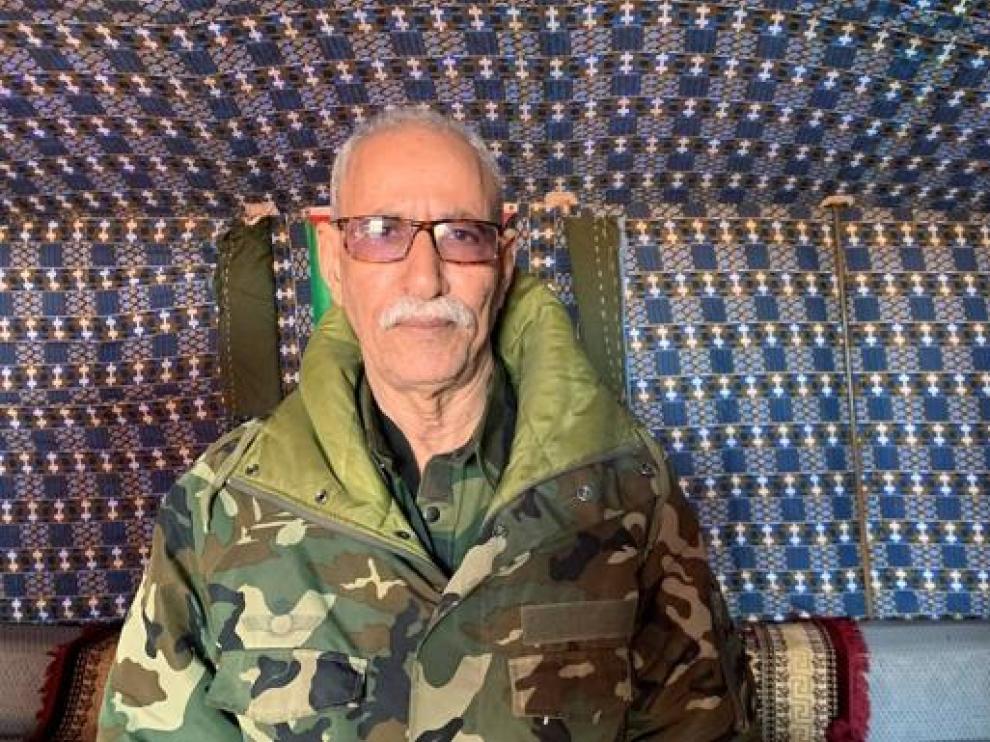 Brahim Gali, líder del Frente Polisario.