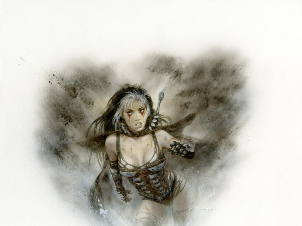 Una de las mujeres que ha dibujado Luis Royo.
