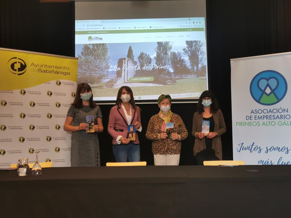 Sabiñánigo estrena portal web que aglutina toda la oferta turística y de ocio del municipio.