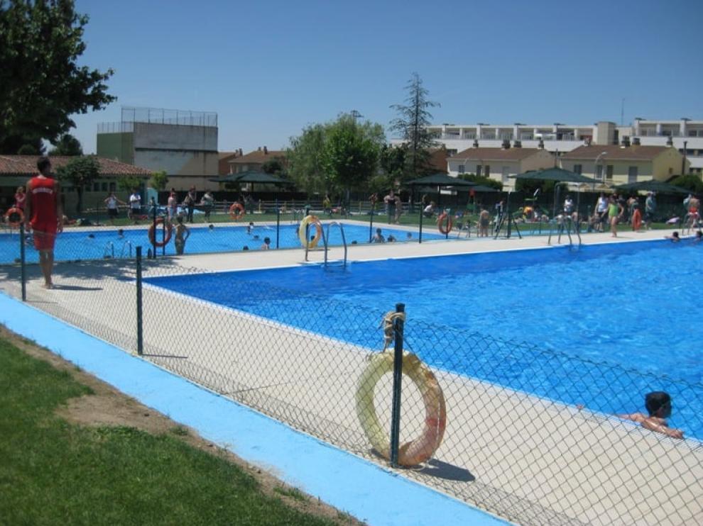 Las piscinas de Almudévar serán uno de los escenarios del festival.