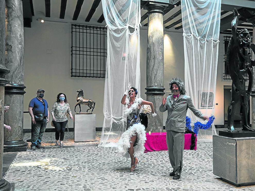El Museo Pablo Gargallo acogió el pasado año visitas teatralizadas.