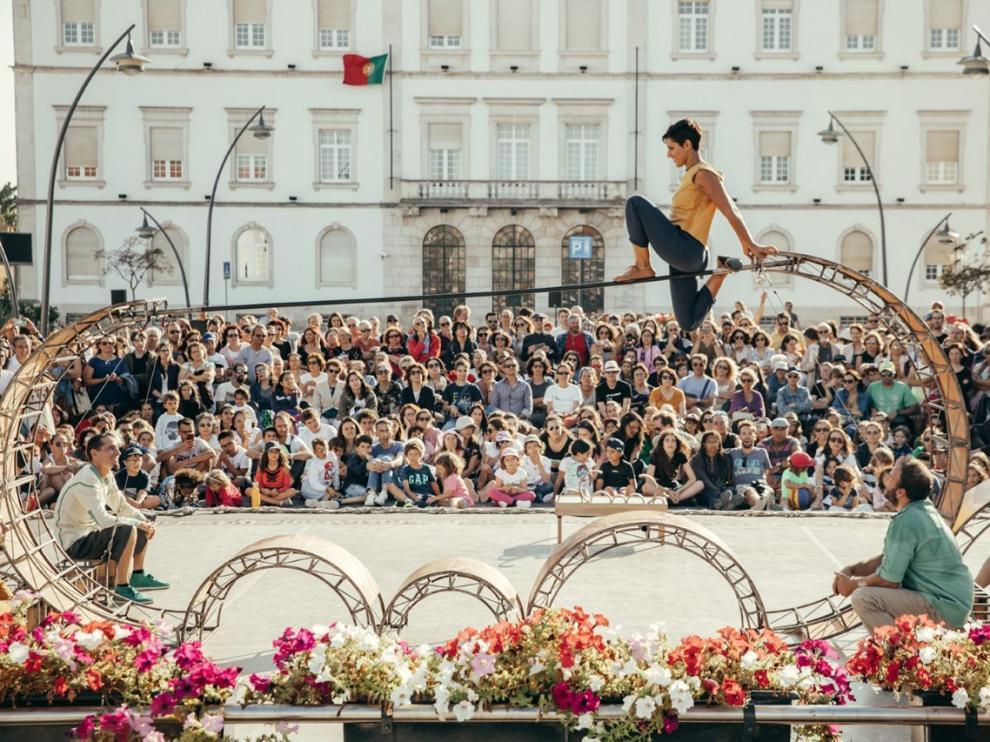 La compañía sevillana Vaivén Circo actuará el 24 de julio en el festival Nocte de Graus.