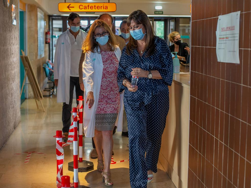 Repollés visita el hospital de Calatayud