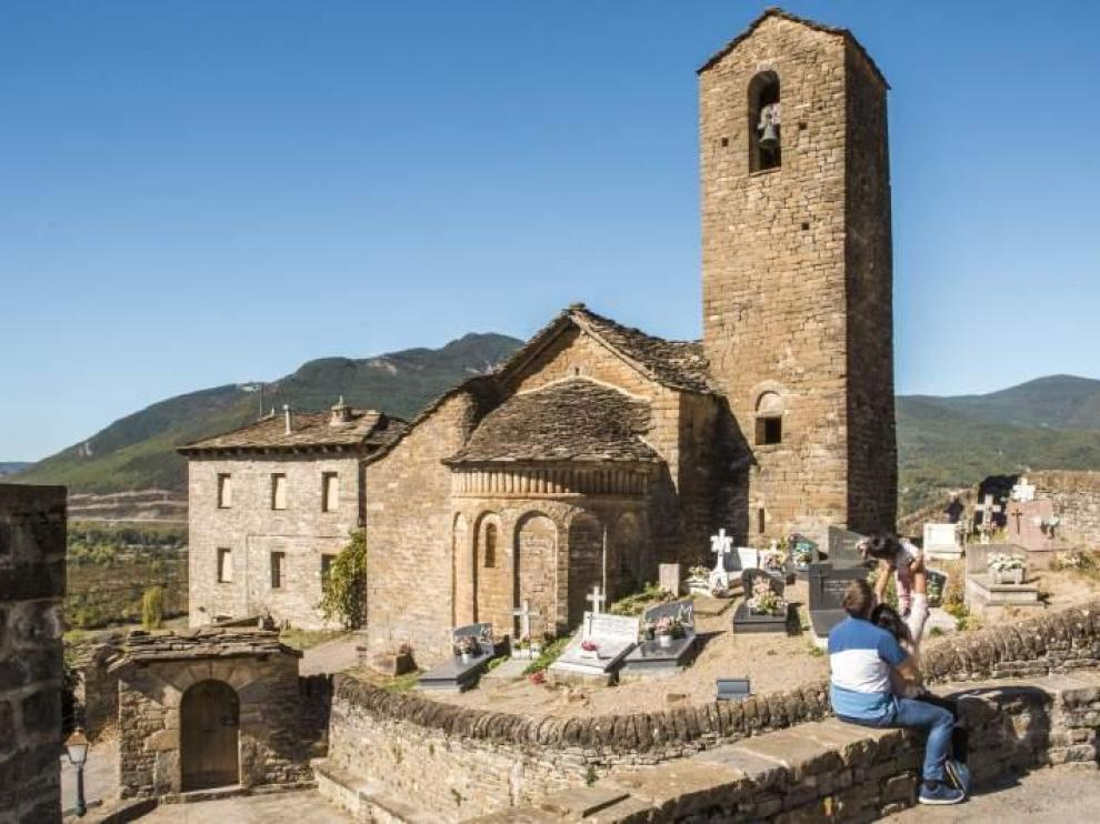 Iglesia de Nuestra Señora del Día y del Sol o de Diasol en Malpica de Arba.