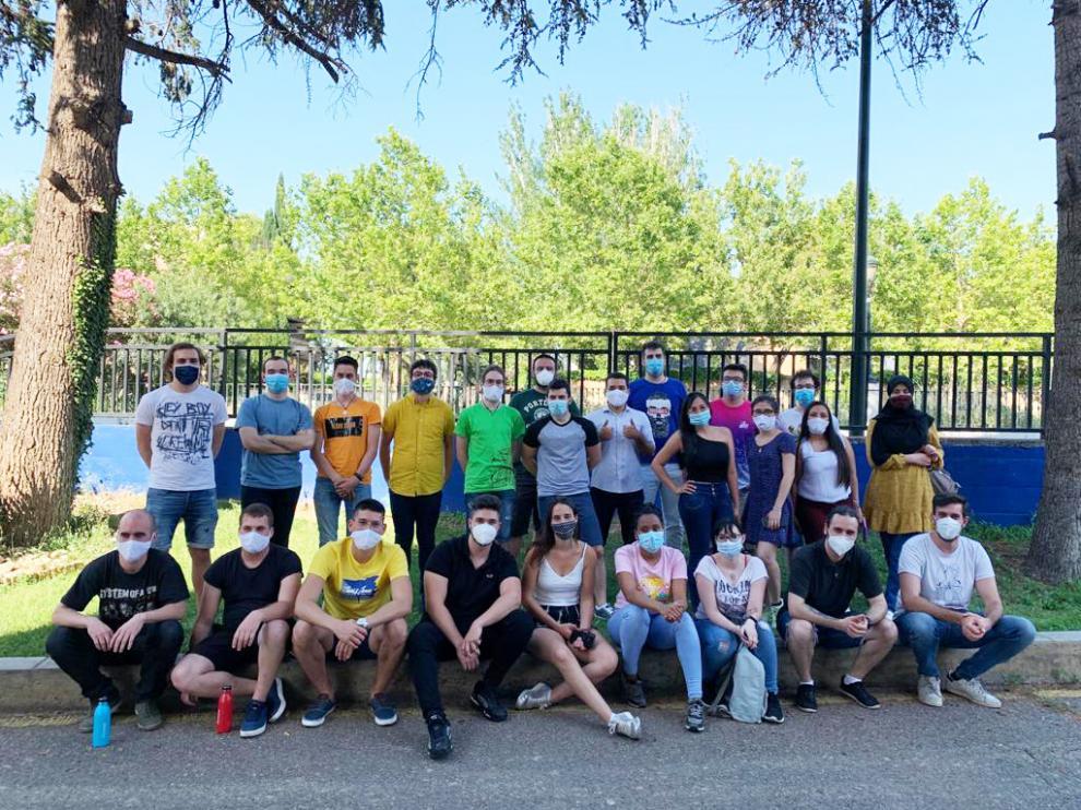 Algunos de los alumnos participantes de Formatea, un programa con contenidos propios y profesorado activo en empresas.
