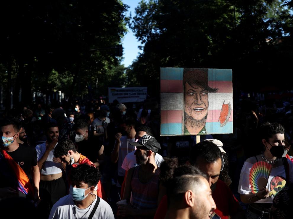 Manifestación convocada por Orgullo Crítico Madrid