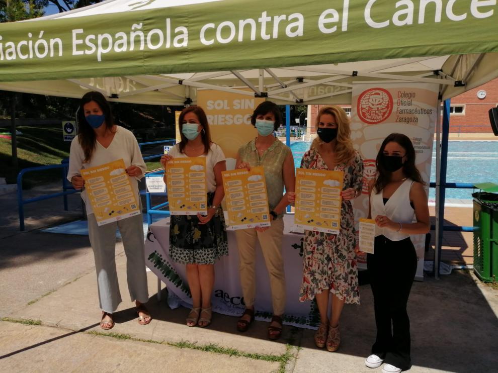 Presentación de la campaña 'Sol sin riesgo'.