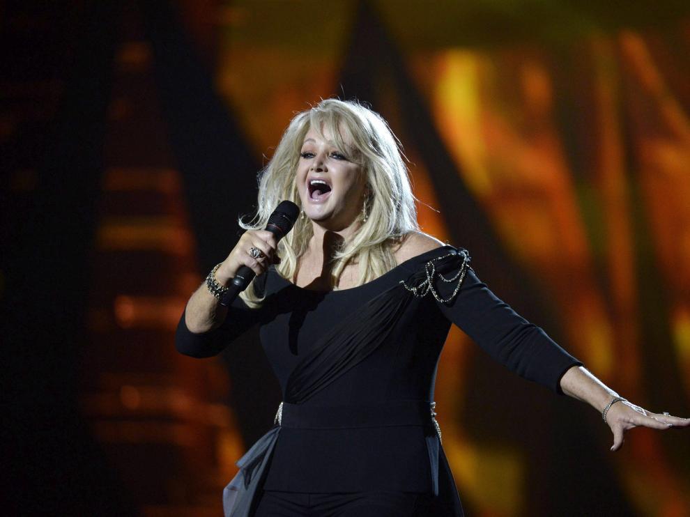 Bonnie Tyler, en una actuación de 2013.