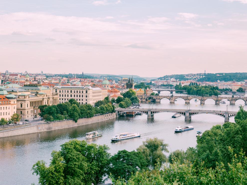 Panorámica de Praga.