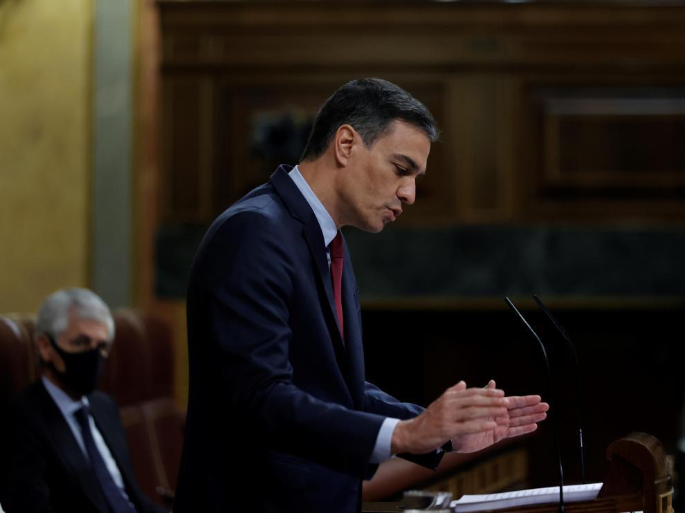Comparecencia de Sánchez en el Congreso