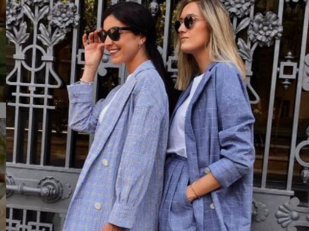 Dos modelos de la marca zaragozana MaràVic.