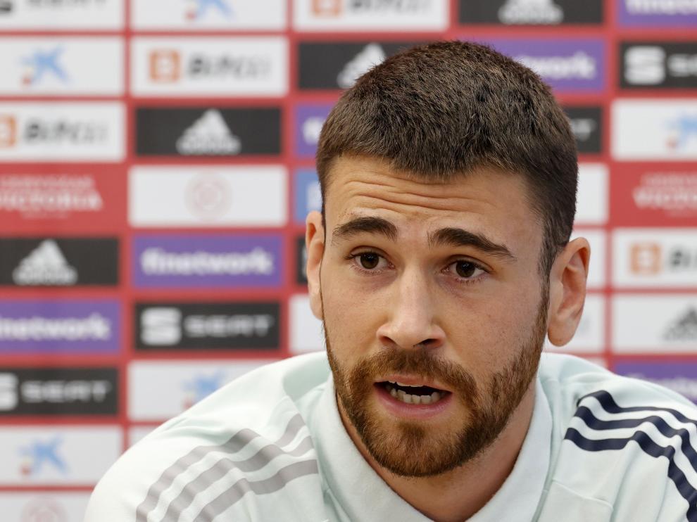 Unai Simón, portero titular de la selección española.