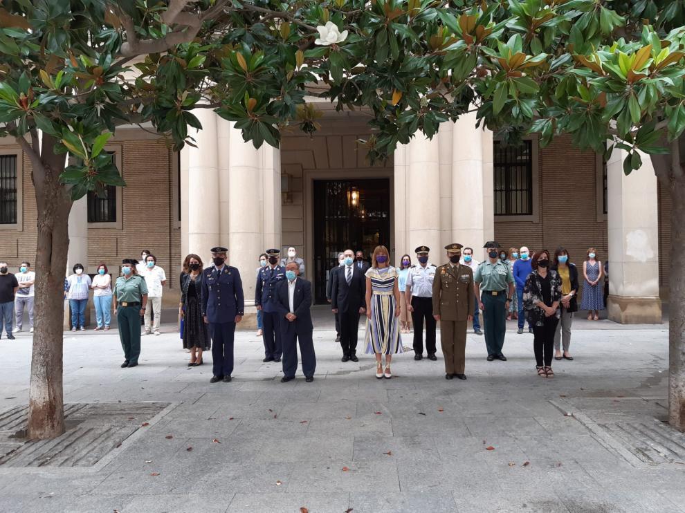 Concentración ante la Delegación del Gobierno en Aragón