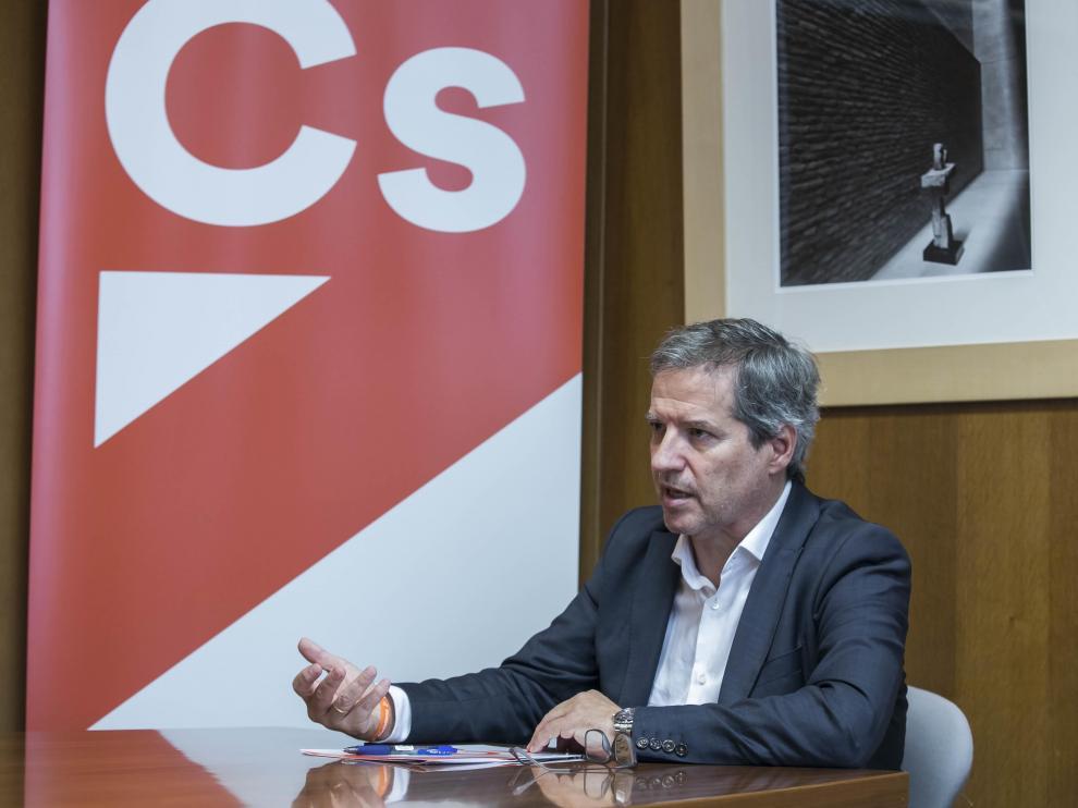 Daniel Pérez Calvo, coordinador de Cs en Aragón.