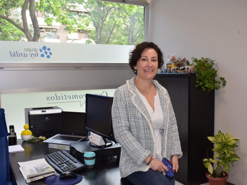 Maite Albajez, directora general de Fundación Rey Ardid