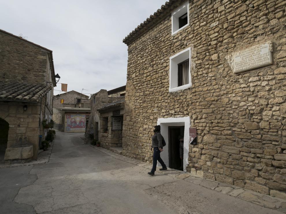 La casa natal de Goya, principal foco de atracción de Fuendetodos.