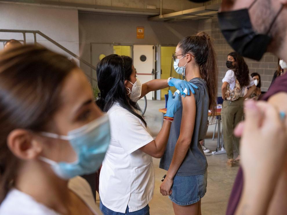 Campaña de vacunación para estudiantes de Erasmus