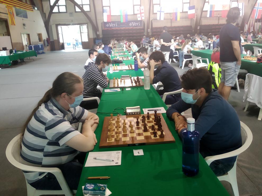 El Open Internacional de Benasque afrontó el martes su segunda ronda.