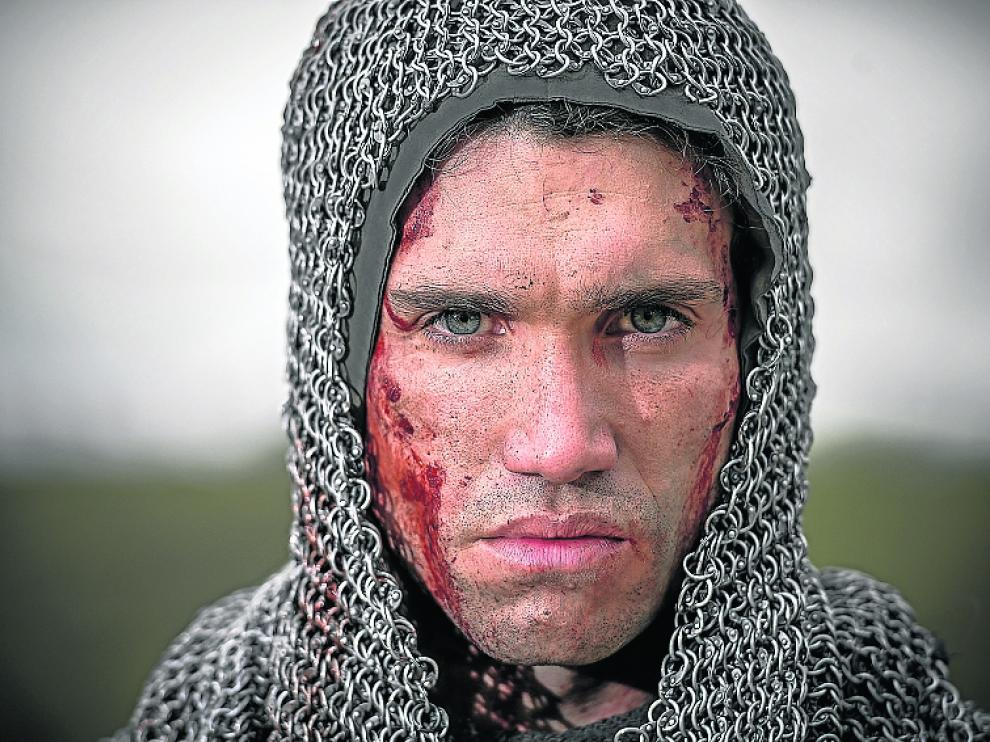 Jaime Lorente, caracterizado como 'El Cid'