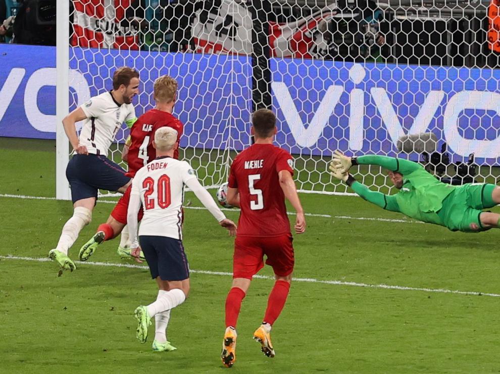 Inglaterra aprovecha un fallo del VAR y jugará la final de la Eurocopa  contra Italia