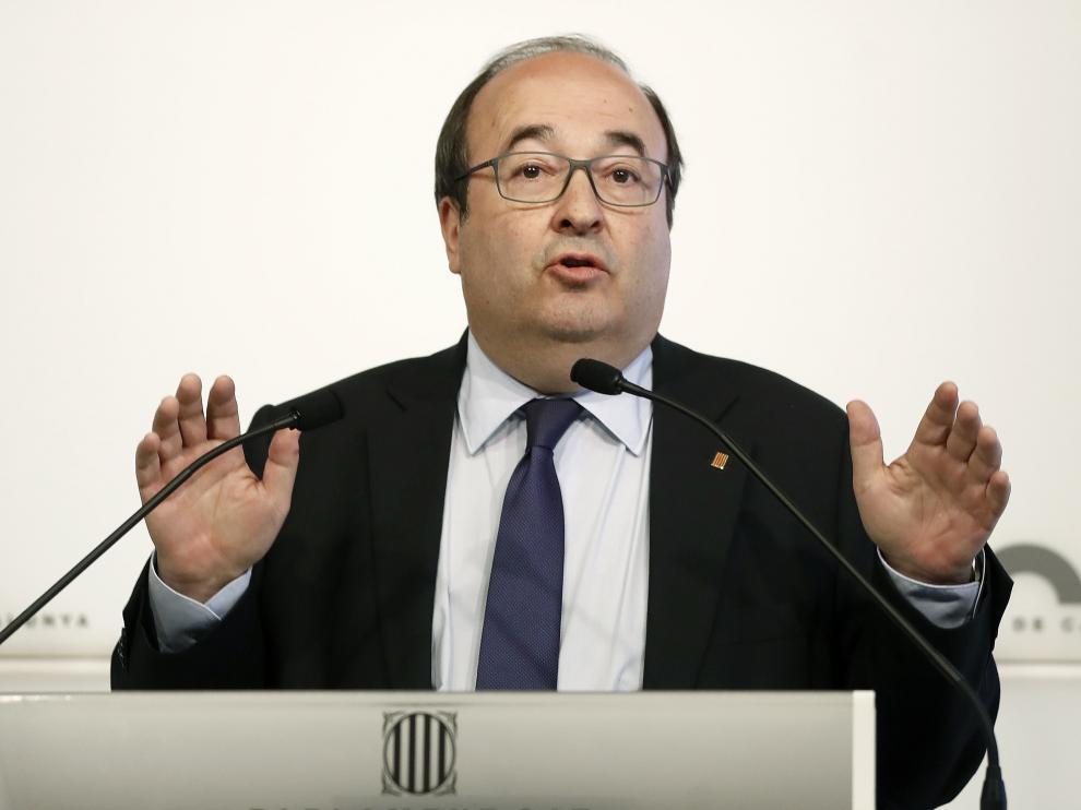 Miquel Iceta, nuevo ministro de Cultura y Deporte.